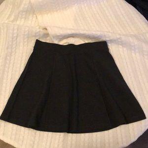 Dark grey mini skirt Size L